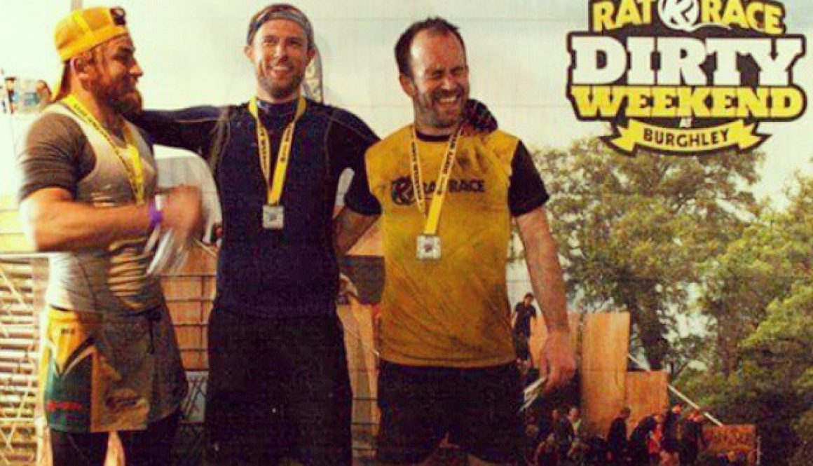 Completed 20-Mile Charity Obstacle Course