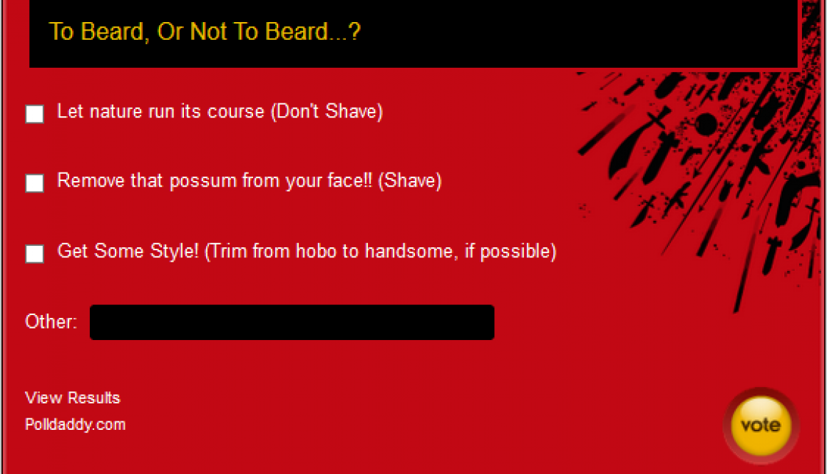 "MC #007: ""To Beard Or Not To Beard"""