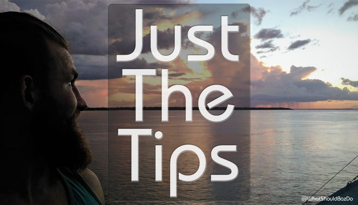 Amazon Boating – Just The Tips: Slow Boating